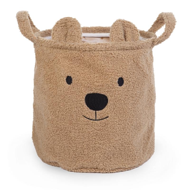 Teddy-Aufbewahrungskorb 'Bär' 30x30cm