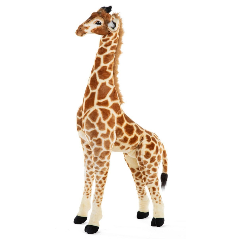 XL Giraffe gelb/braun 135cm ab 2 Jahren