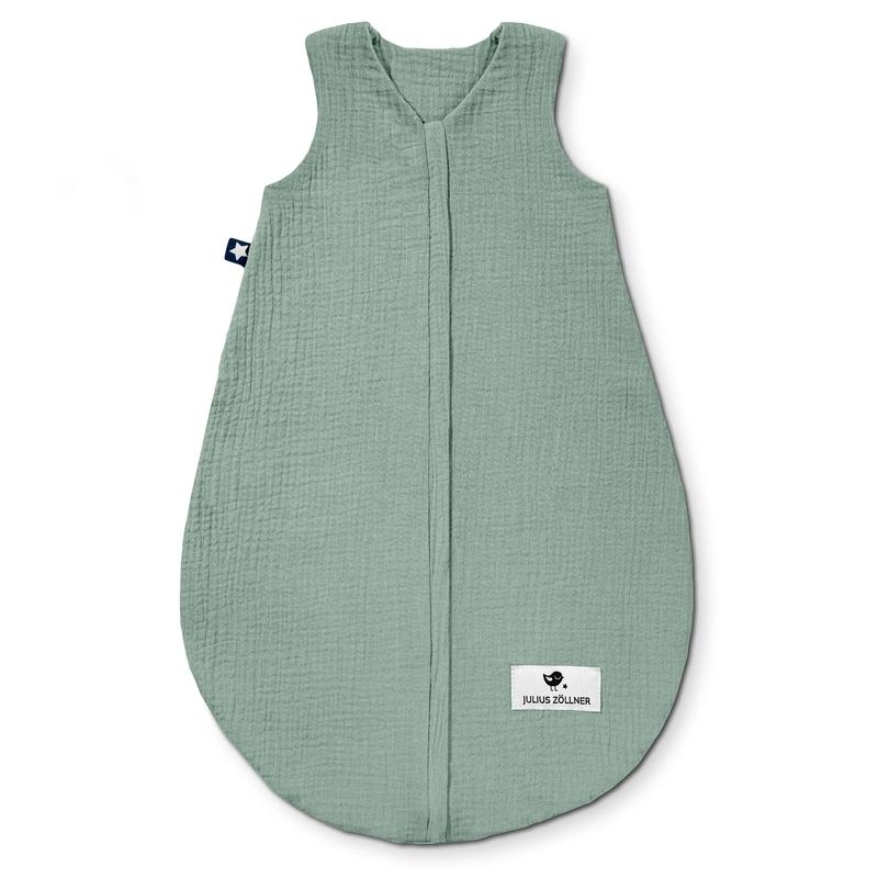 Sommerschlafsack 'Terra' Musselin grün