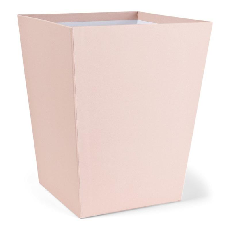 Aufbewahrungskorb aus Pappe puderrosa 33cm