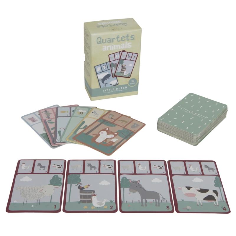 Kartenspiel 'Tier-Quartett' ab 3 Jahren
