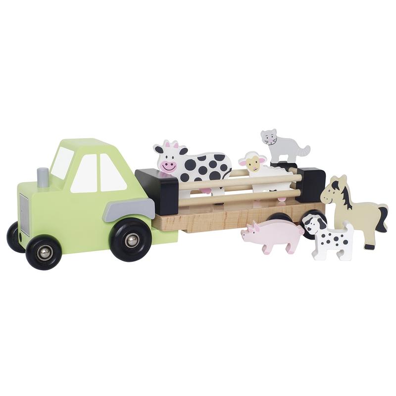Traktor mit Anhänger & Tieren ab 18 Monaten