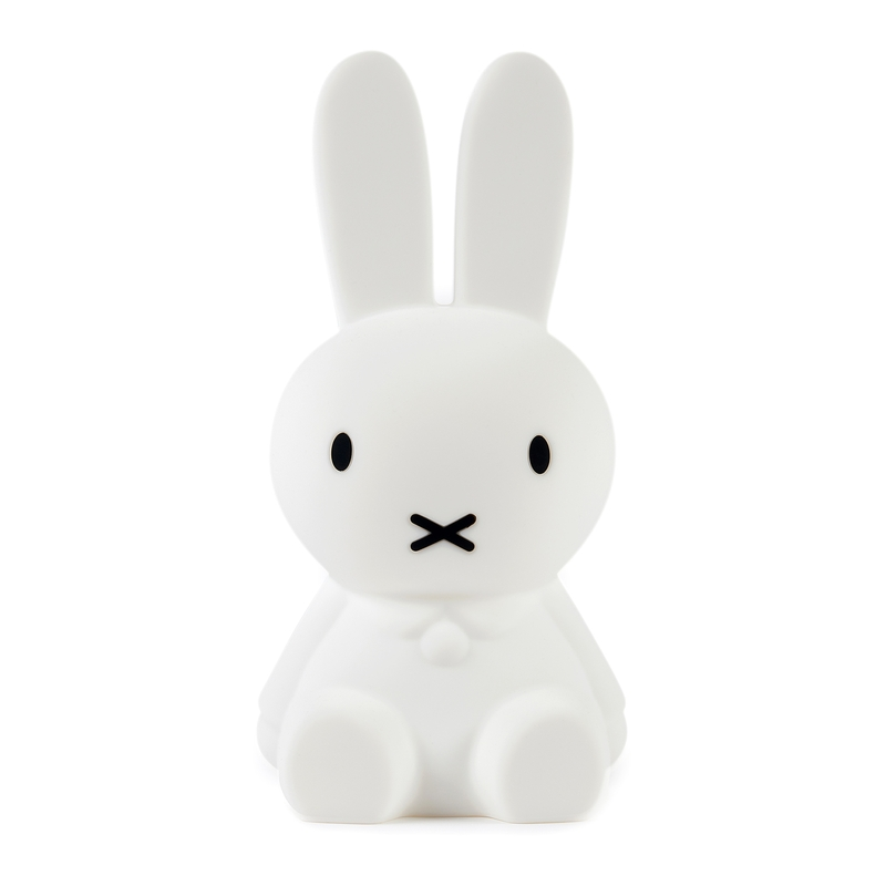 Nachtlicht 'Miffy' Silikon weiß ca. 15cm