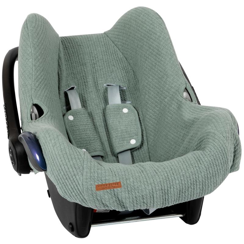 Sitzbezug 'Pure' jade für Babyschale