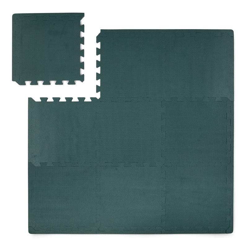 Puzzlematte Schaumstoff jade 100x100cm