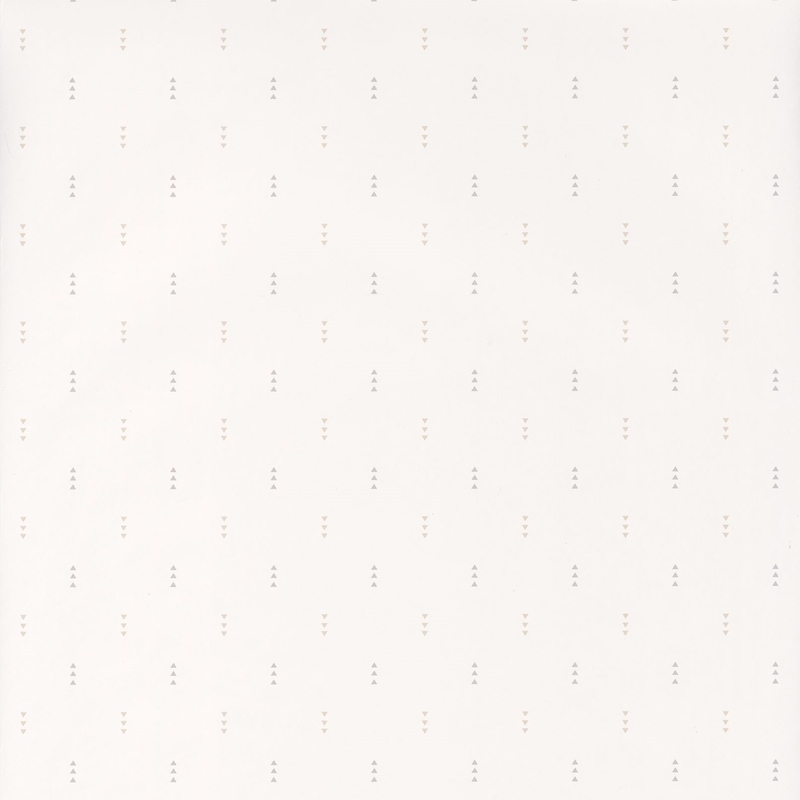 Tapete 'Happy Dreams' Dreiecke beige/grau