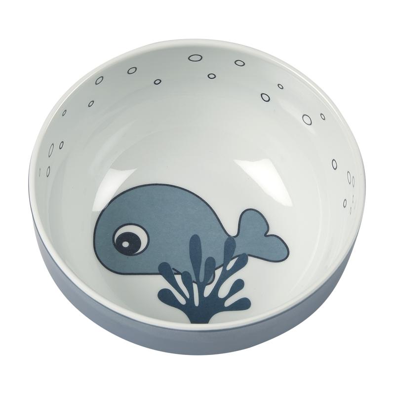 Schüssel 'Sea Friends' Melamin blau 11cm