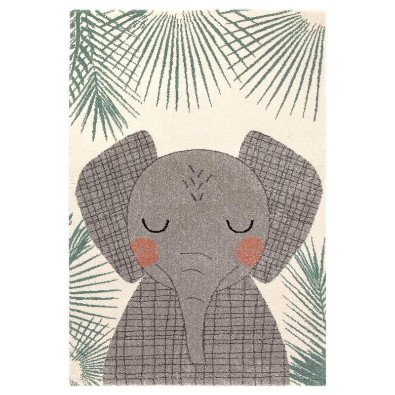 Teppich 'Elefant' creme/taupe 120x170cm