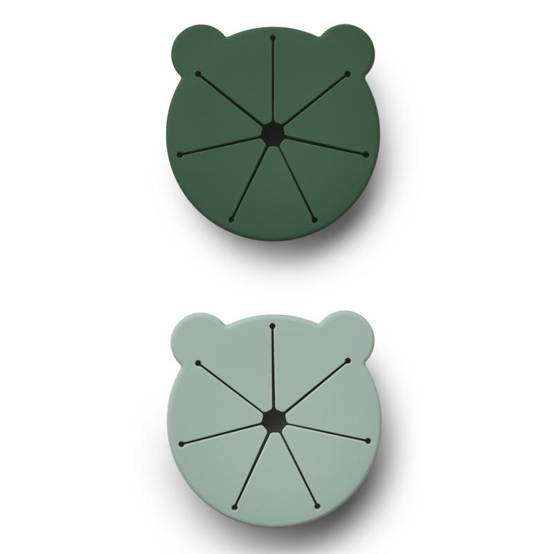 Snack-Tasse Silikon mint/grün 300ml