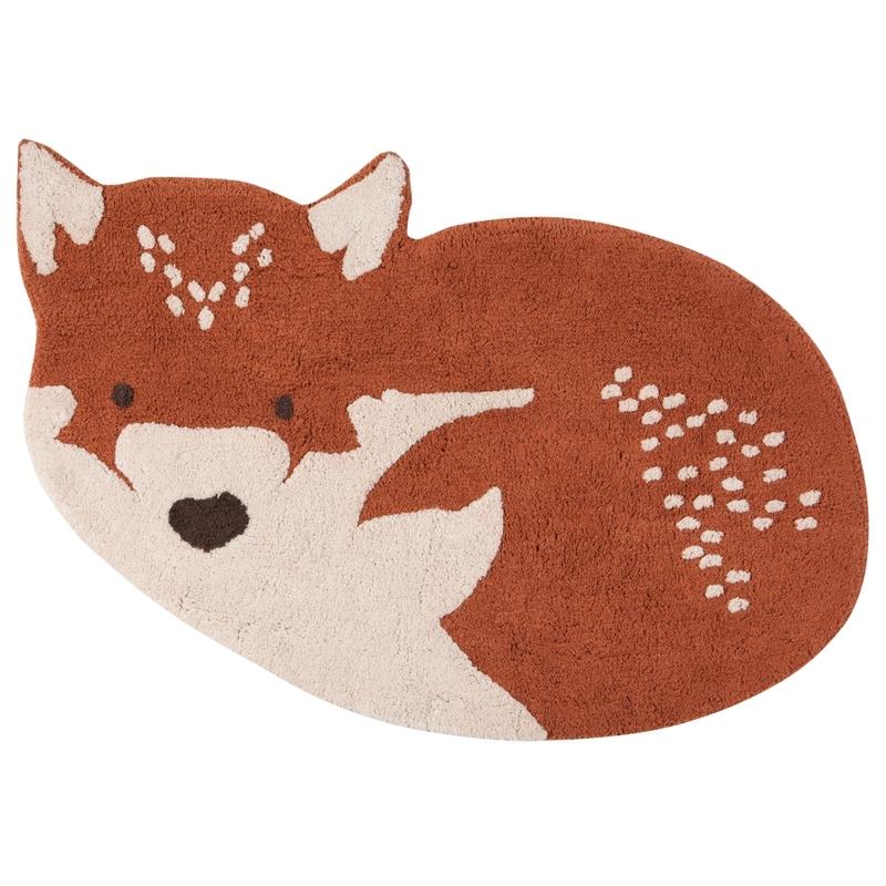 Teppich 'Kleiner Fuchs' rost waschbar