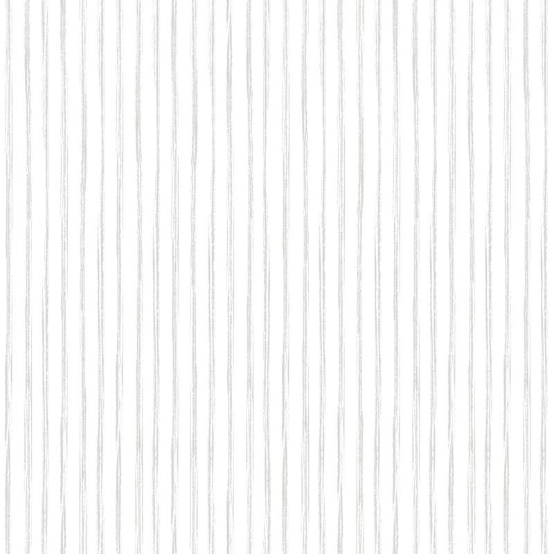 Vliestapete 'Streifen' hellgrau/weiß