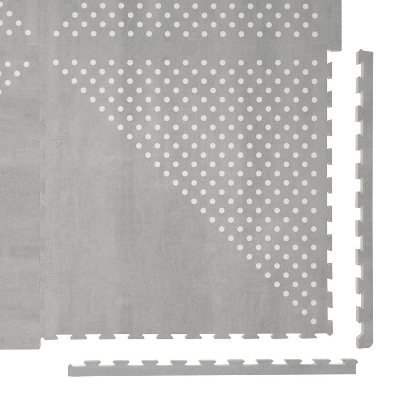Spielmatte 'Earth' grau 120x180cm